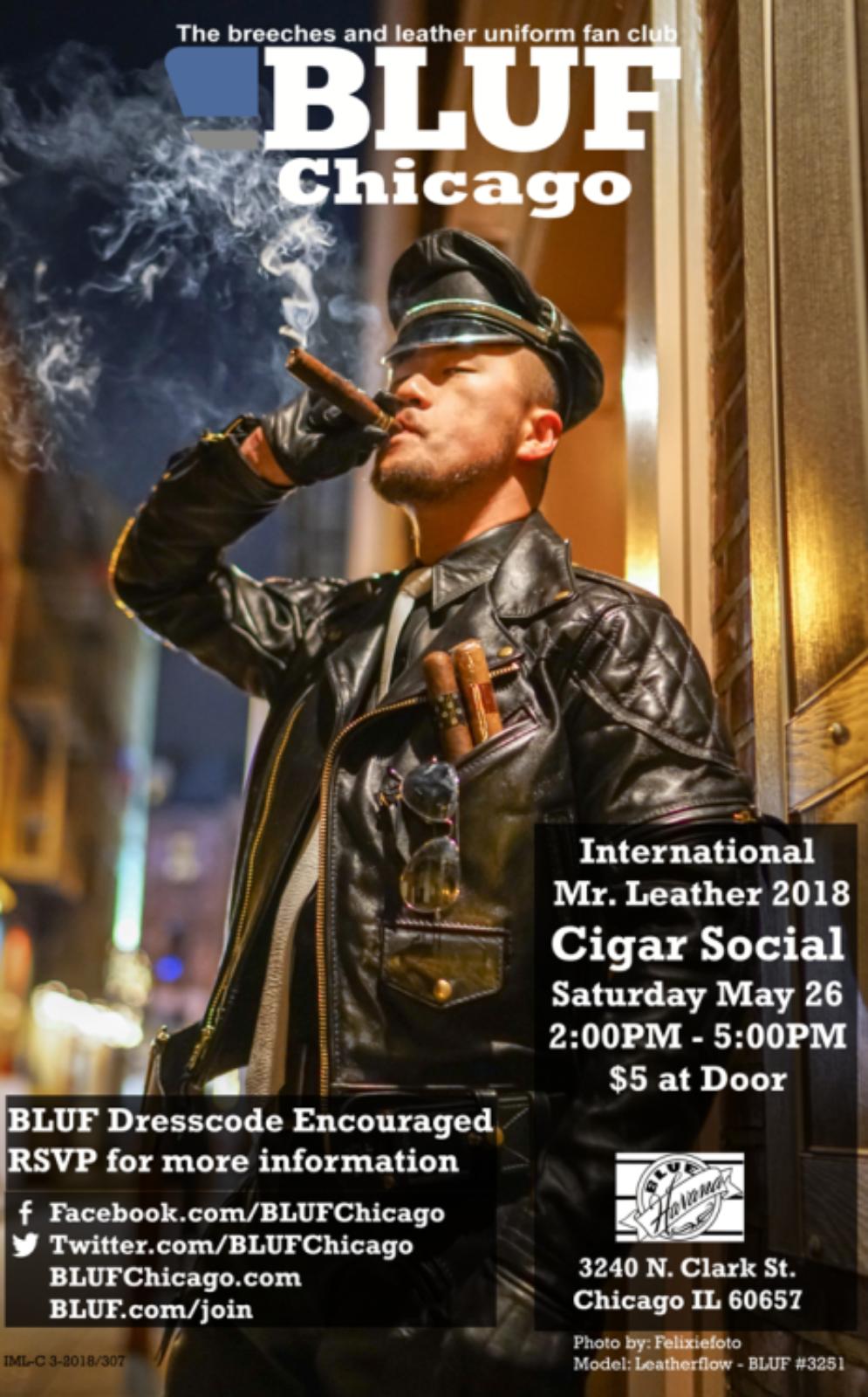 IML Cigar Social 2018 Flat Poster-822